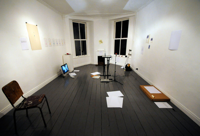 eoin o dowd - art exhibition. experimental curation.  Ormond Studios Gallery